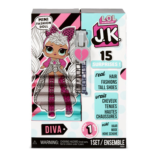 L.O.L. Surprise! JK Mini Fashion Doll - Diva (Exclusive)