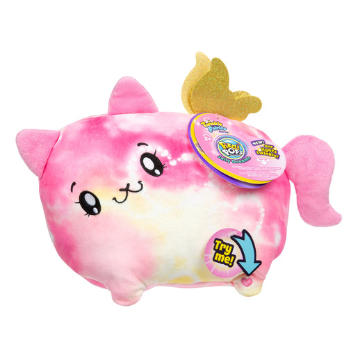 Pikmi Pops Twinkle Fairies Soft Toy - Beams The Cat