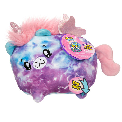 Pikmi Pops Twinkle Fairies Soft Toy - Stella The Unicorn