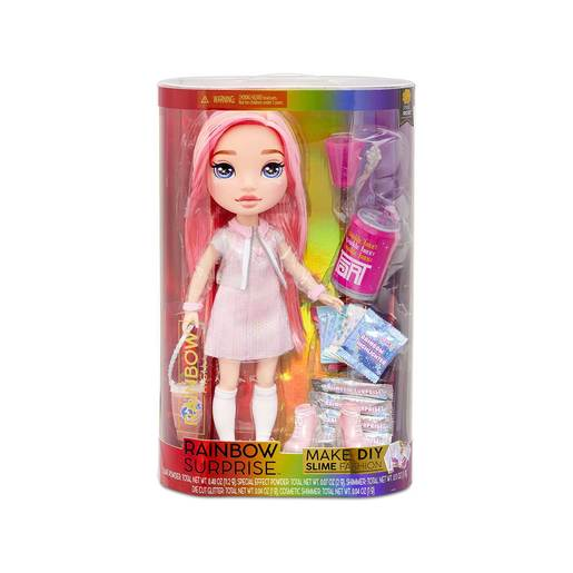 Rainbow Surprise 35cm Doll with DIY Slime Fashion - Pixie Rose