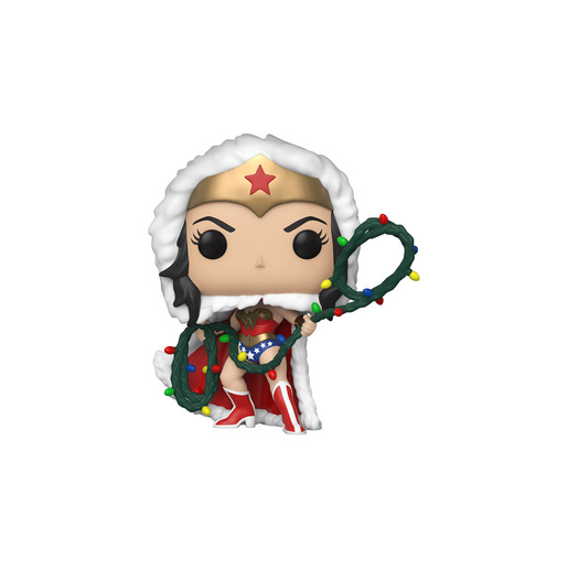 Funko Pop! Heroes: DC Holiday - Wonder Woman With String Lights Lasso