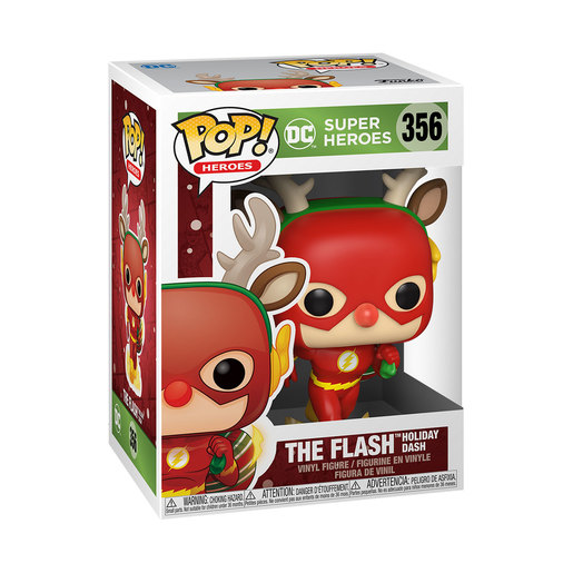Funko Pop! Heroes: DC Holiday - The Flash Holiday Dash