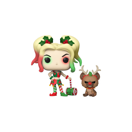 Funko Pop! Heroes : DC Holiday - Harley Quinn With Helper