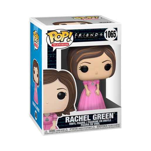 Funko Pop! Television: Friends – Rachel Green (Pink Bridesmaids Dress)