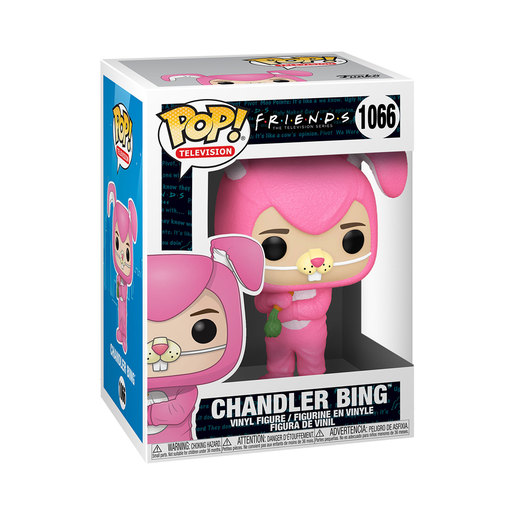 Funko Pop! Television: Friends – Pink Fluffy Bunny Chandler