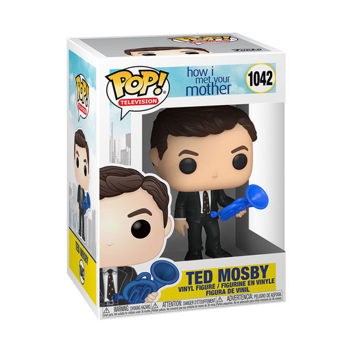 Funko Pop! Television: How I Met Your Mother – Ted Mosby & The Blue French Horn