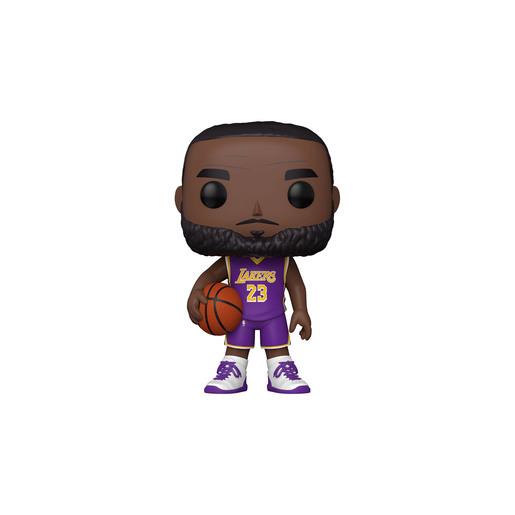 "Funko Pop! NBA: Lakers - 10"" LeBron James (Purple Jersey)"
