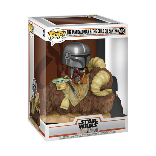 Funko Pop! Star Wars: The Mandalorian & The Child on Bantha