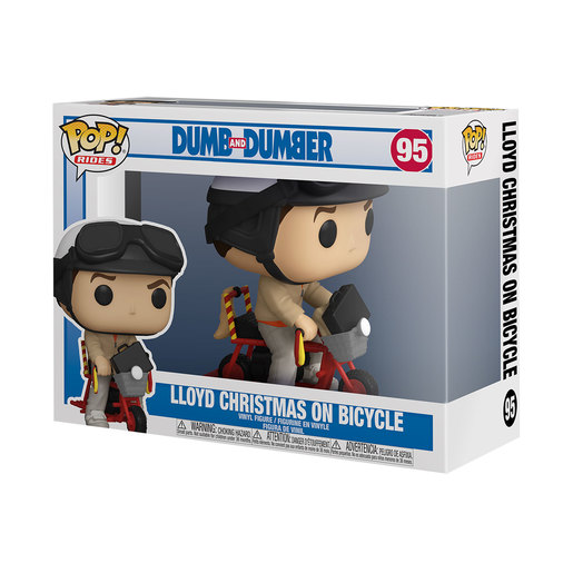 Funko Pop! Movies: Dumb & Dumber - Lloyd with a Bicycle