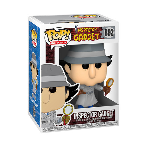 Funko Pop! Animation: Inspector Gadget – Classic (Styles Vary)