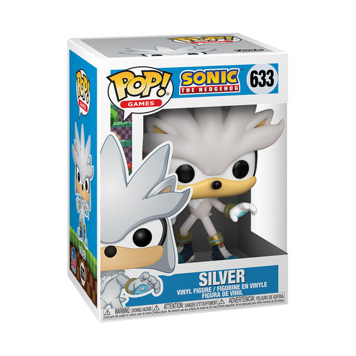 Funko Pop! Games: Sonic 30th – Silver the Hedgehog