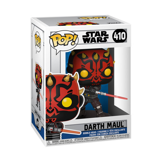 Funko Pop! Star Wars: Clone Wars – Darth Maul