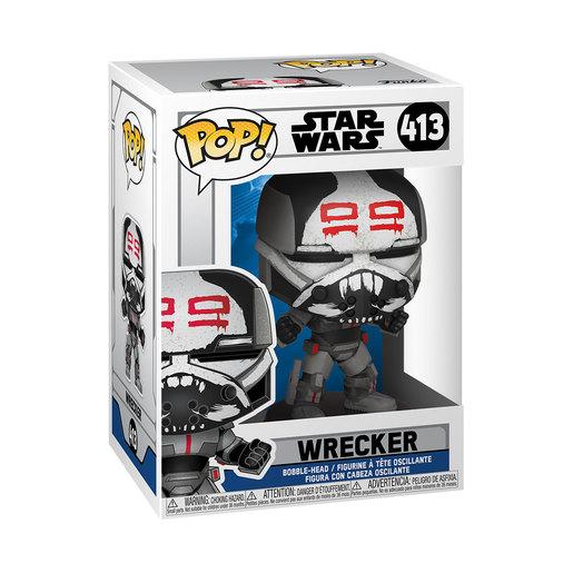 Funko Pop! Star Wars: Clone Wars – Wrecker
