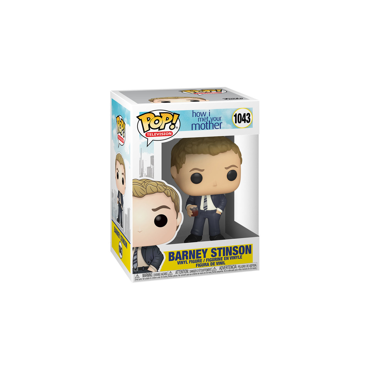 Funko Pop Television Himym Barney In Suit The Entertainer