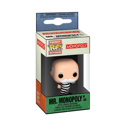 Funko Pop! Keychain: Monopoly - Mr Monopoly (In Jail)
