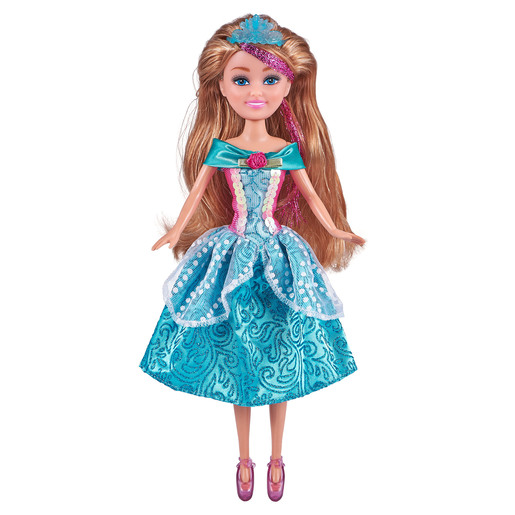 Sparkle Girlz Deluxe Princess Doll - Blue