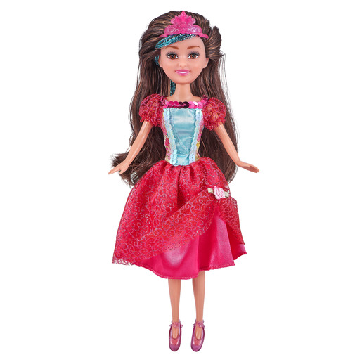 Sparkle Girlz Deluxe Princess Doll - Red