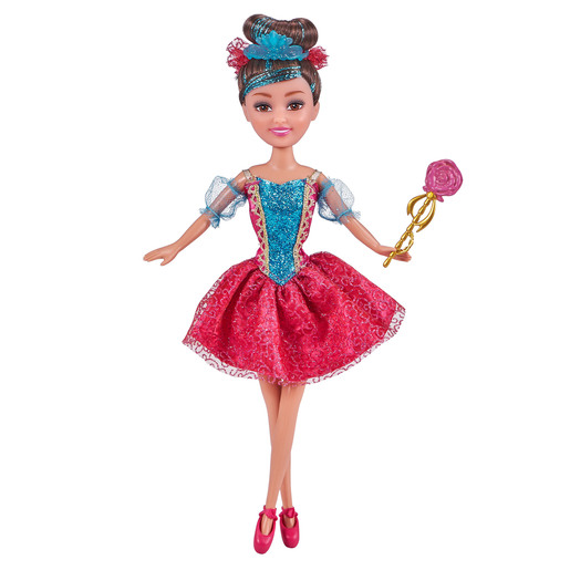 Sparkle Girlz Deluxe Ballerina Doll - Red