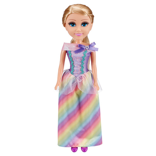 "Sparkle Girlz 18"" Rainbow Princess Doll from TheToyShop"