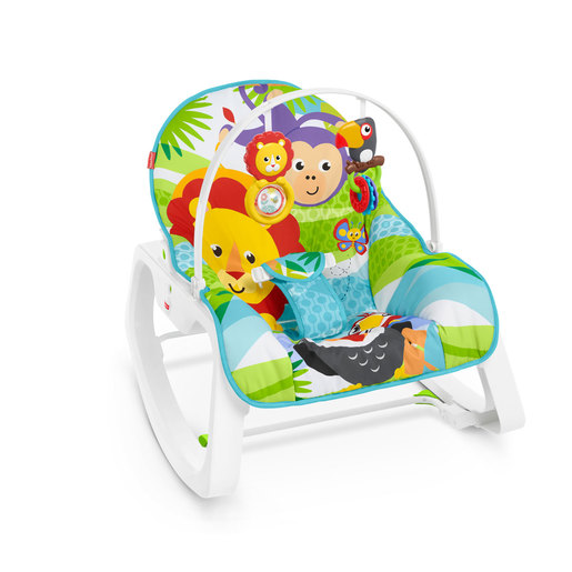 Fisher Price Infant To Toddle Rocker Chair   Safari