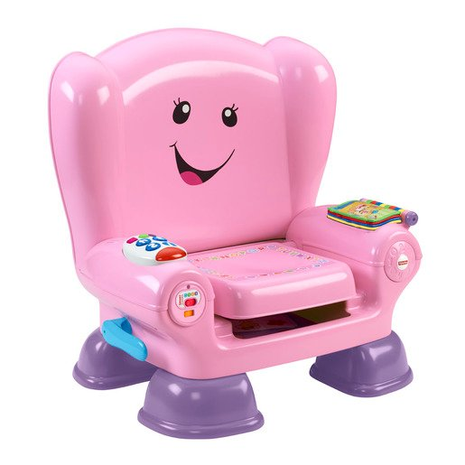 Fisher-Price Laugh & Learn Smart Chair Pink