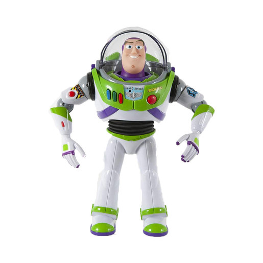 Disney Pixar Toy Story 4 Interactive Drop-Down Figure - Buzz Lightyear