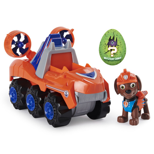 Paw Patrol Dino Rescue Deluxe Vehicle And Mystery Dino - Zuma