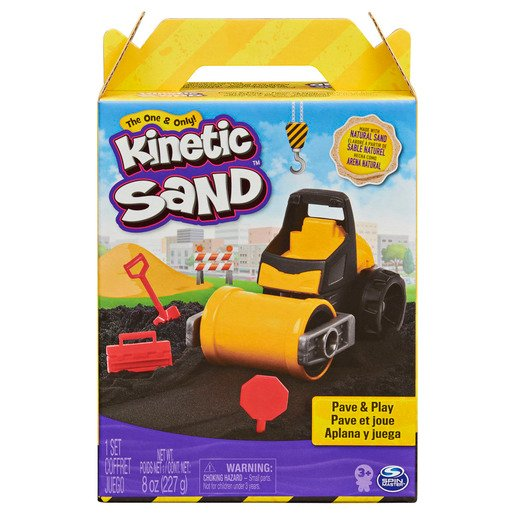Kinetic Sand Pave and Play Kit