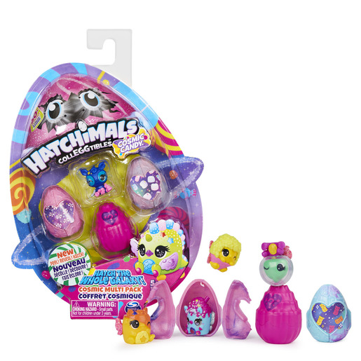 Hatchimals CollEGGtibles Cosmic Candy 4 Pack (Styles Vary)