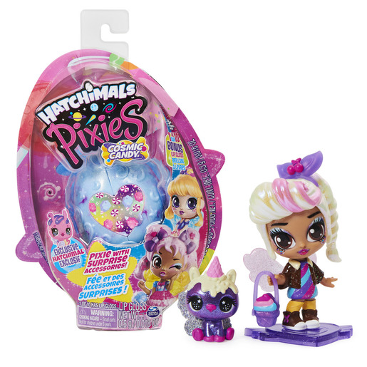 Hatchimals Pixies Cosmic Candy Pixie And Surprise Accessories (Styles Vary)