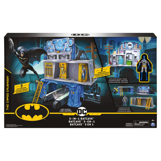 DC Batman 3-in-1 Batcave Mission Playset