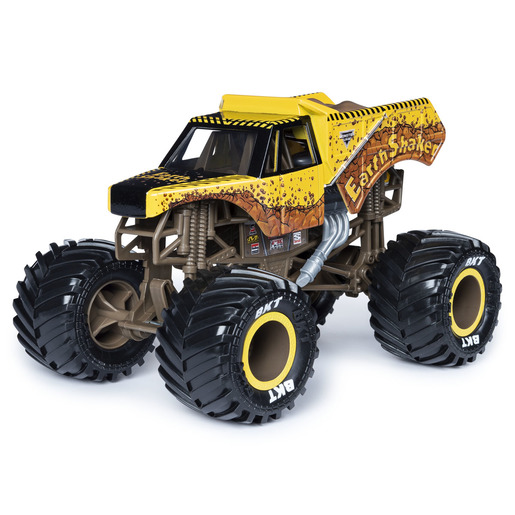Monster Jam 1:24 True Metal Monster Truck - Earth Shaker