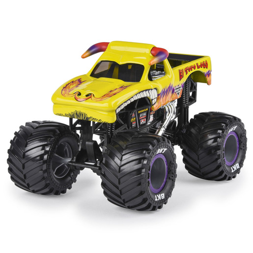 Monster Jam 1:24 True Metal Monster Truck - El Toro Loco