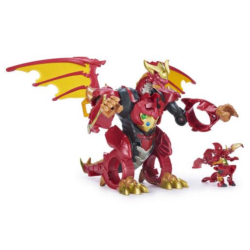 Bakugan Ultra Infinity Transforming Figure - Dragonoid from TheToyShop