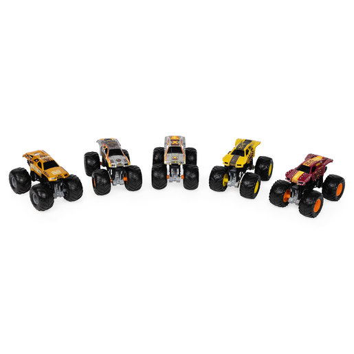 Monster Jam 1:64 True Metal Monster Truck 5 Pack - Max-D