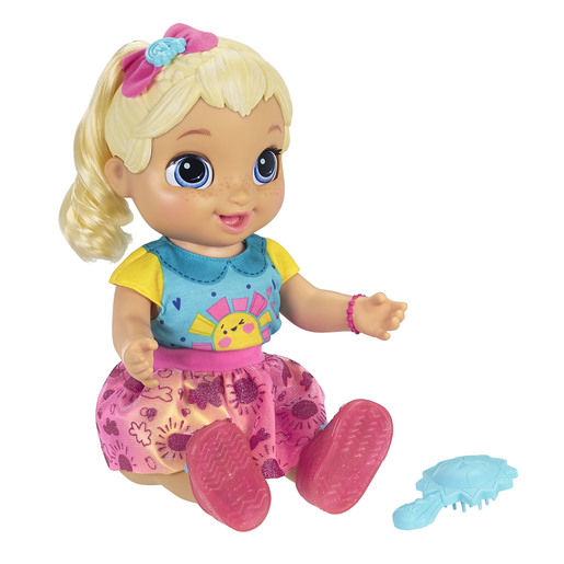 Baby Alive Baby Grows Up - Blonde Hair