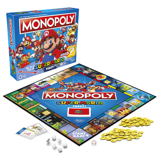 Monopoly Super Mario Game