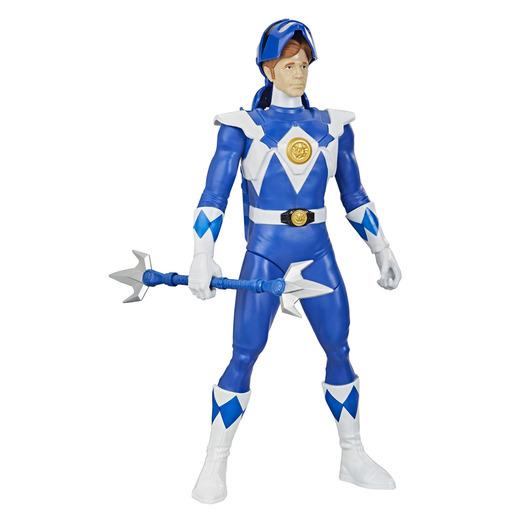 Power Rangers Ranger Morphin Hero Figure - Blue