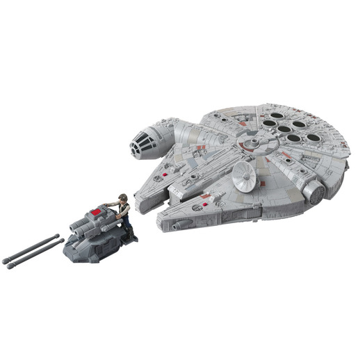 Star Wars Mission Fleet Millennium Falcon and Han Solo Figure