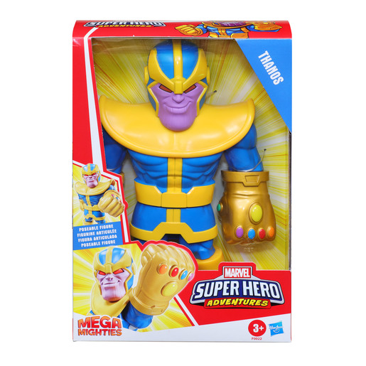 Playskool Marvel Super Hero Adventures Mega Mighties Figure - Thanos