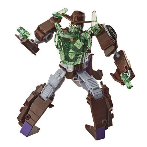 Transformers Cyberverse Adventures: Battle Call Trooper Wildwheel Figure