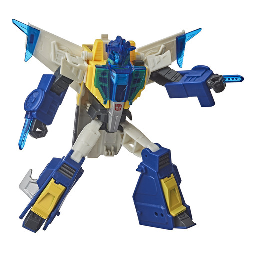 Transformers Cyberverse Adventures: Battle Call Trooper Meteorfire Figure
