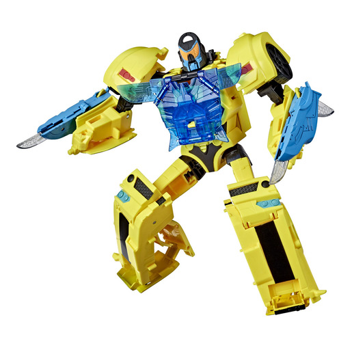 Transformers Cyberverse Adventures: Battle Call Lights and Sounds Bumblebee Figure