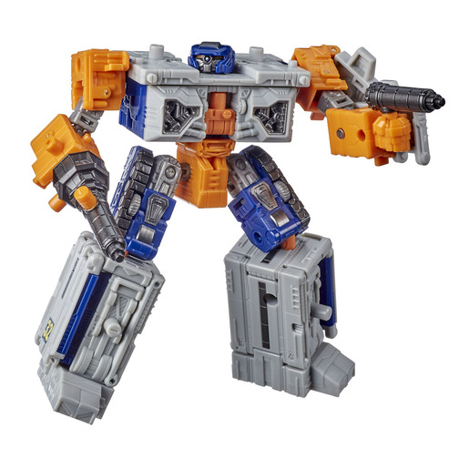 Transformers Generations War for Cybertron: Earthrise Deluxe WFC-E18 Airwave Modulator Figure