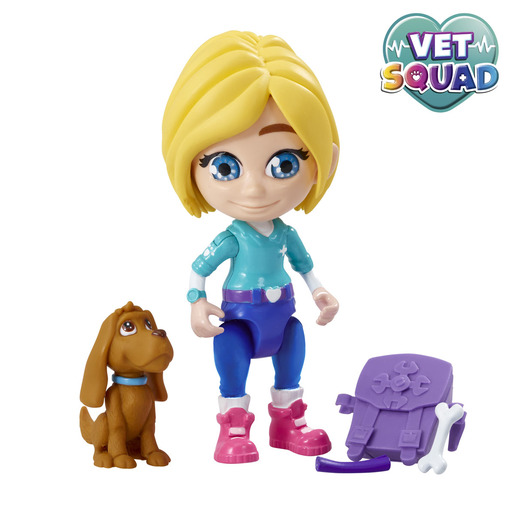 Vet Squad Figures - Emily & Brooke The Dog