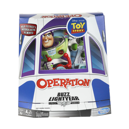 Disney Pixar Toy Story 4 Buzz Lightyear Operation Game
