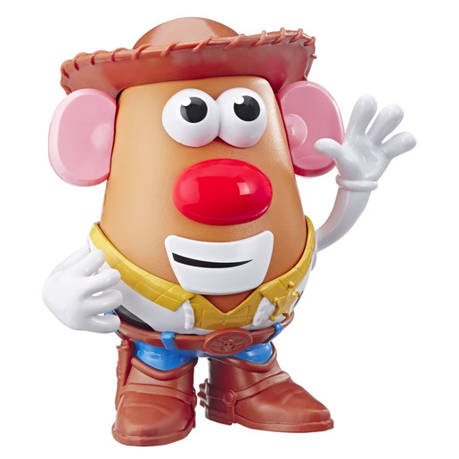 Disney Pixar Toy Story 4 Mr Potato Head Figure - Woody's Tater Roundup