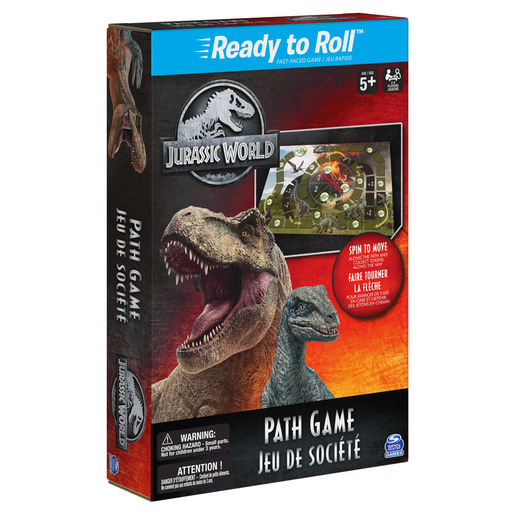 Jurassic World Path Game