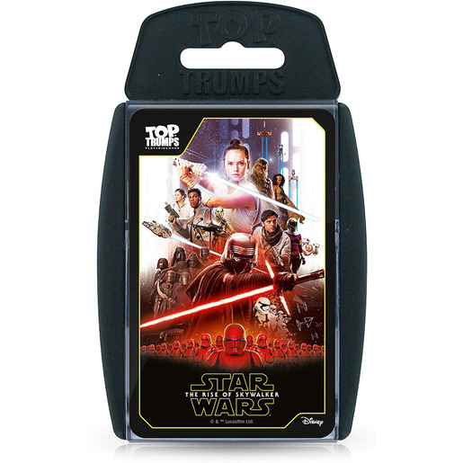 Star Wars The Rise of Skywalker Top Trumps Card Game