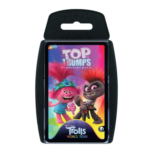 Trolls 2 Top Trumps Card Game